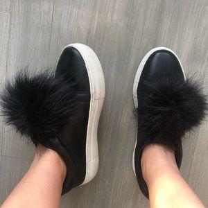 Shoes - Alex+Alex Pom Pom sneakers